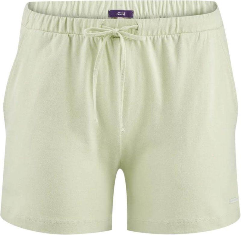 Kurze Schlaf-Shorts in milky green