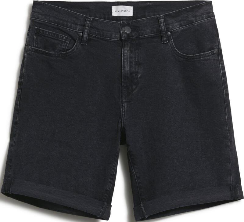 Jeans-Shorts für Herren NAAIL washed down black