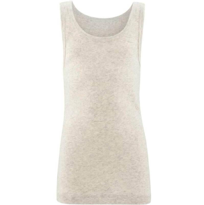 Weiches Kinder-Unterhemd natural melange