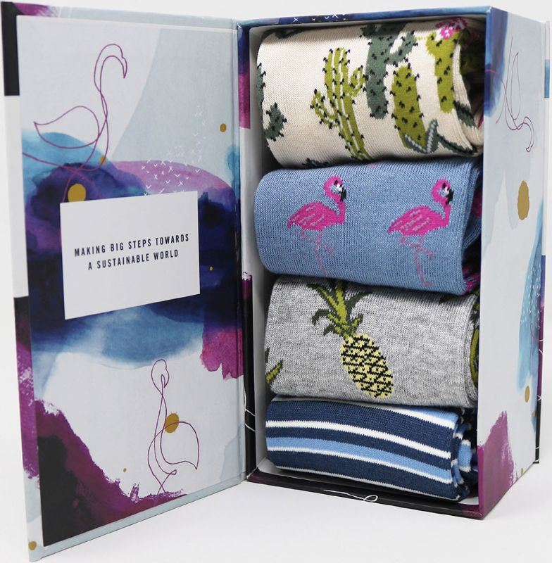 Geschenk-Box Nettie Summer mit Damen-Socken