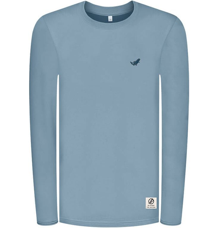 Weiches Super Active Forestfibre Longsleeve in Hellblau