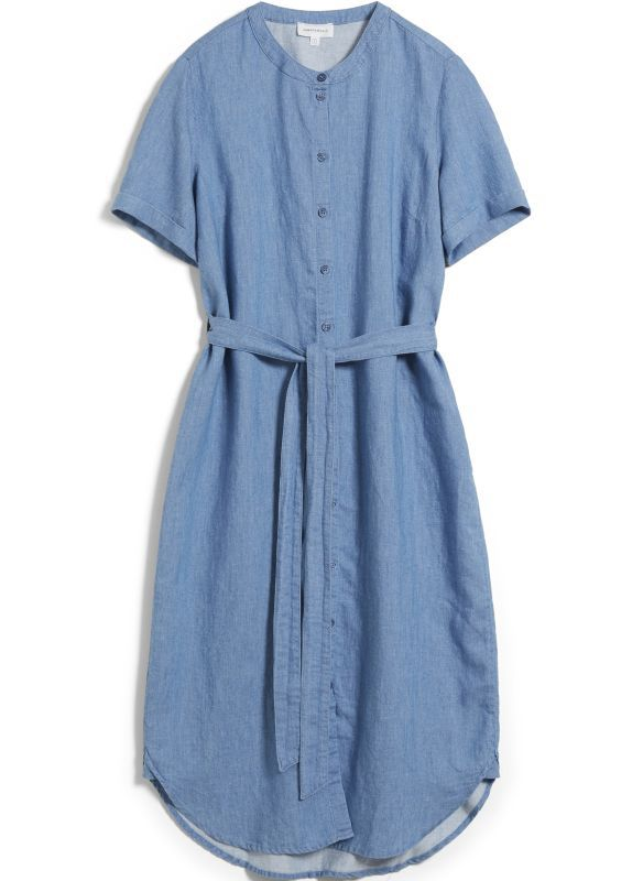 Lockeres Kleid MAARE foggy blue
