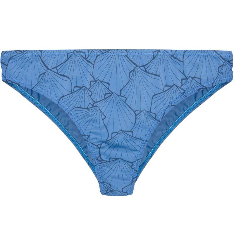 Modische Triangle-Bikini-Hose in Blau