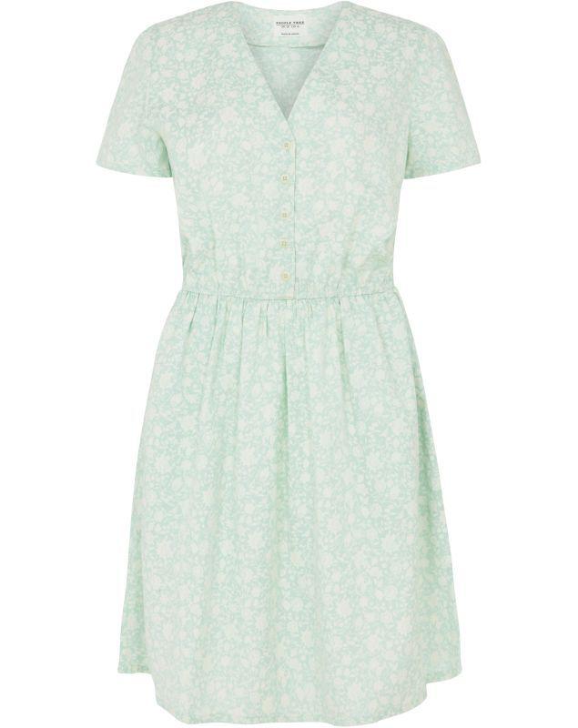 Sommerliches Kleid Laura floral green