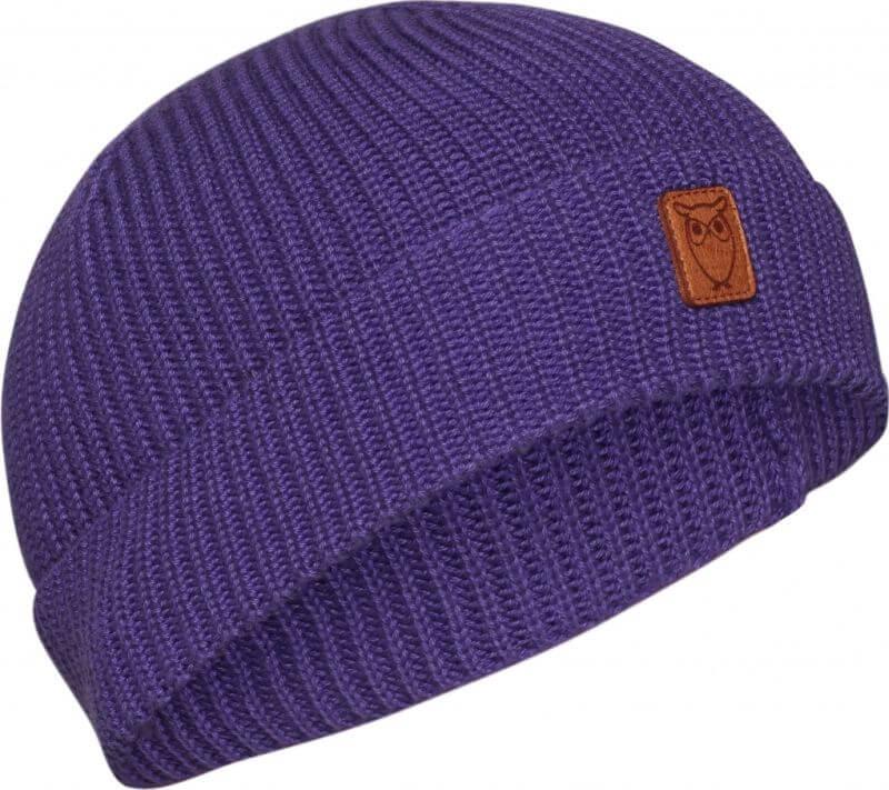 Herren-Mütze aus Baumwolle Royal Purple