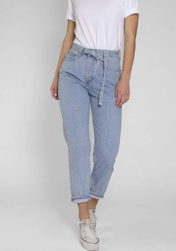 Nora - Loose Tapered - Light Blue