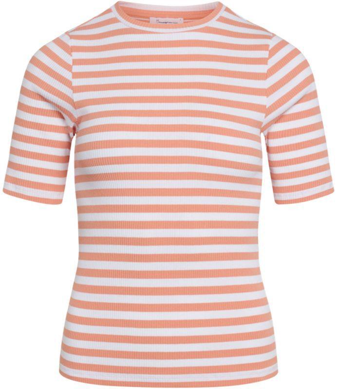 Gestreiftes Damen-Shirt CANNA shimp