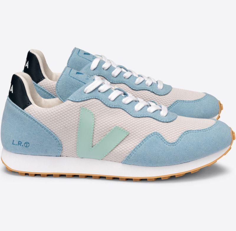 Vegane Damen-Sneaker SDU REC Alveomesh Light Grey Matcha Steel