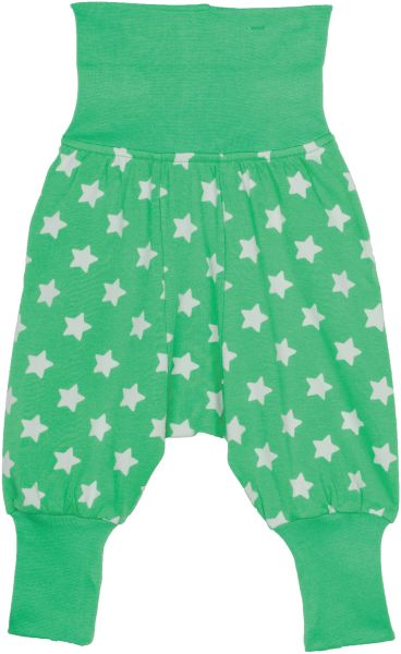 Grüne Baby-Hose mit Sternen