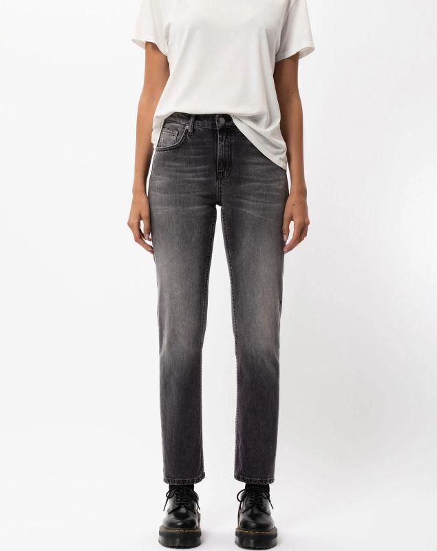 Damen-Jeans Straight Sally - Midnight Rumble