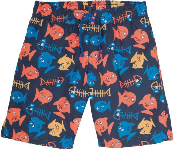 Coole Beach-Shorts mit Piranhas