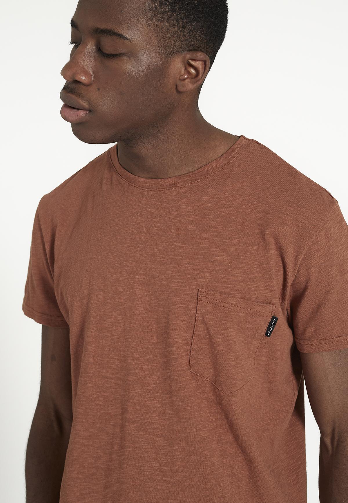Herren-Shirt PALM dark orange