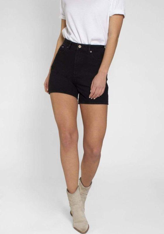 Modische Damen-Shorts Demi Washed Black