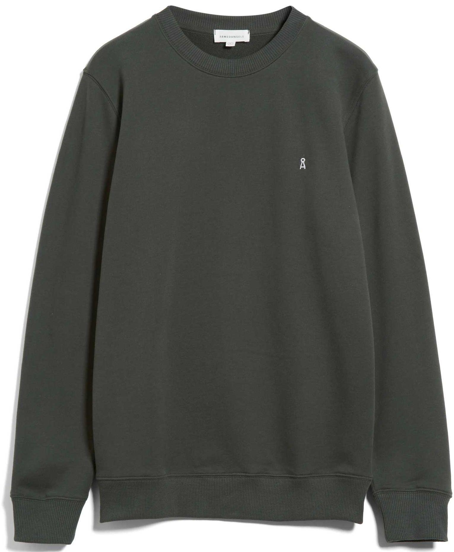 Herren-Sweatshirt MAALTE COMFORT dark pine