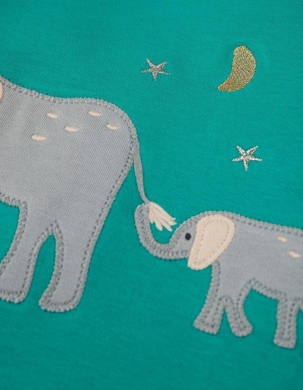 Zweiteiliger Schlafanzug mit Elefanten