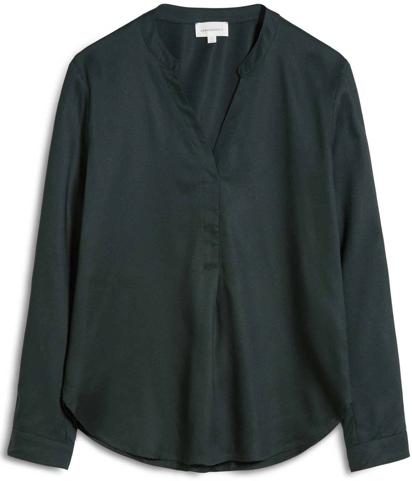 Damen-Bluse CEYLAAN vintage green