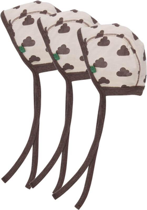 Süße Baby-Mütze mit Wolken (kein Dreierpack)