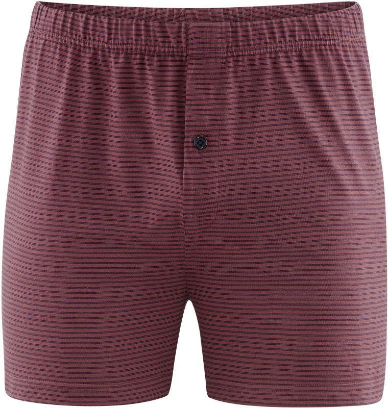 Rot gestreifte Boxer-Shorts im Doppelpack