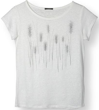 Luftiges Leinen-Shirt Reed in Linen White