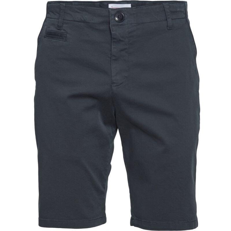 Dunkelblaue Chino-Shorts für Herren