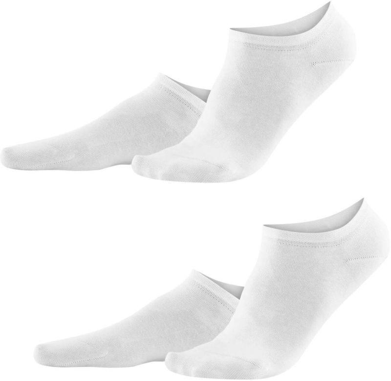 Süße Sneaker-Söckchen im 2er-Pack in Weiß