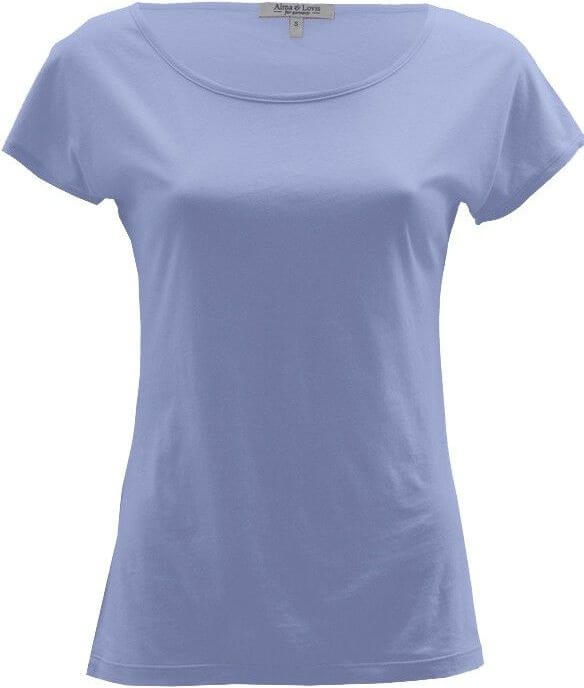 Weiches Basic T-Shirt blue eyes