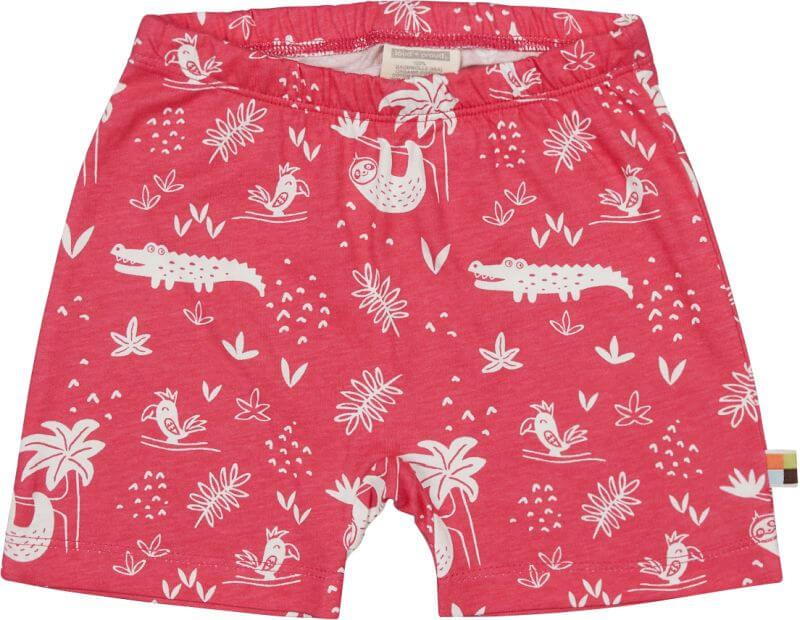 Süße Shorts mit Allover-Print azalea