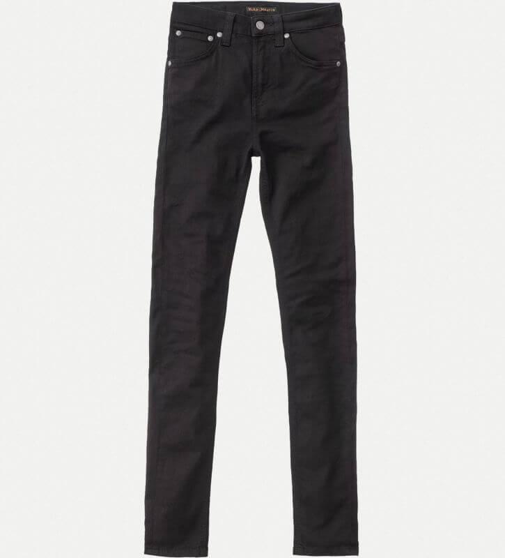 Damen-Jeans Hightop Tilde - Raven Black