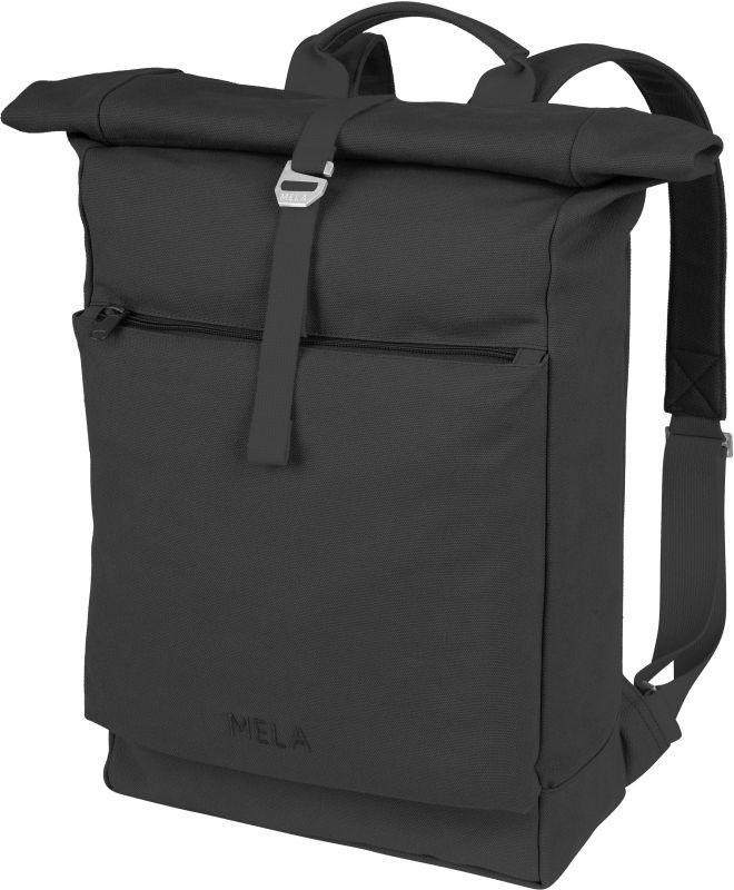 Großer Rolltop-Rucksack AMAR in black