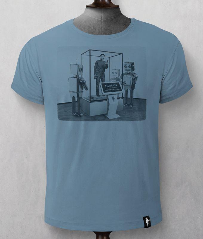Herren-Shirt Museum of Life Noble Blue