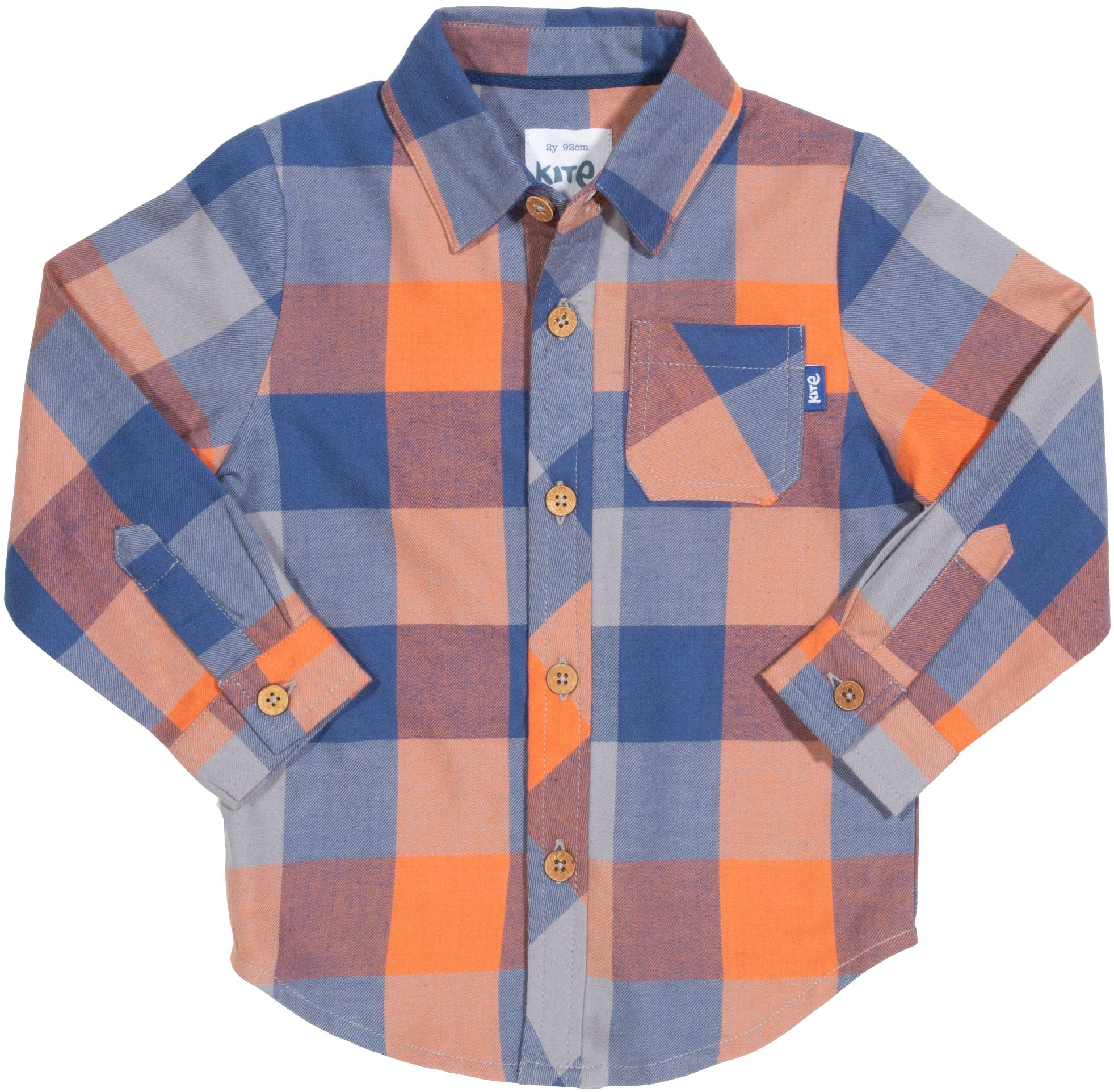 Kariertes Flanell-Hemd für Kinder