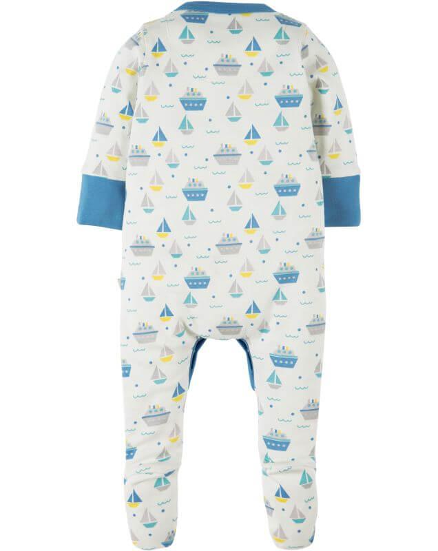Einteiliger Schlafanzug mit coolen Booten