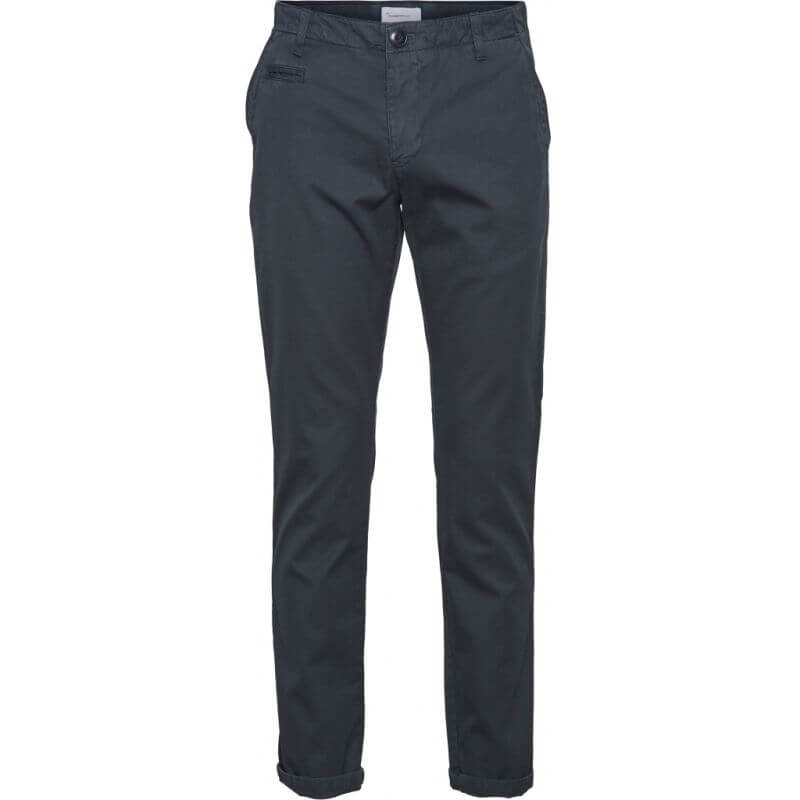 Garment Dyed Chino-Hose Chuck total eclipse