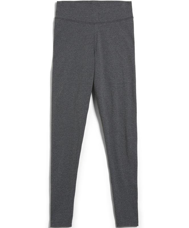 Damen-Leggings FARIBAA dark grey melange