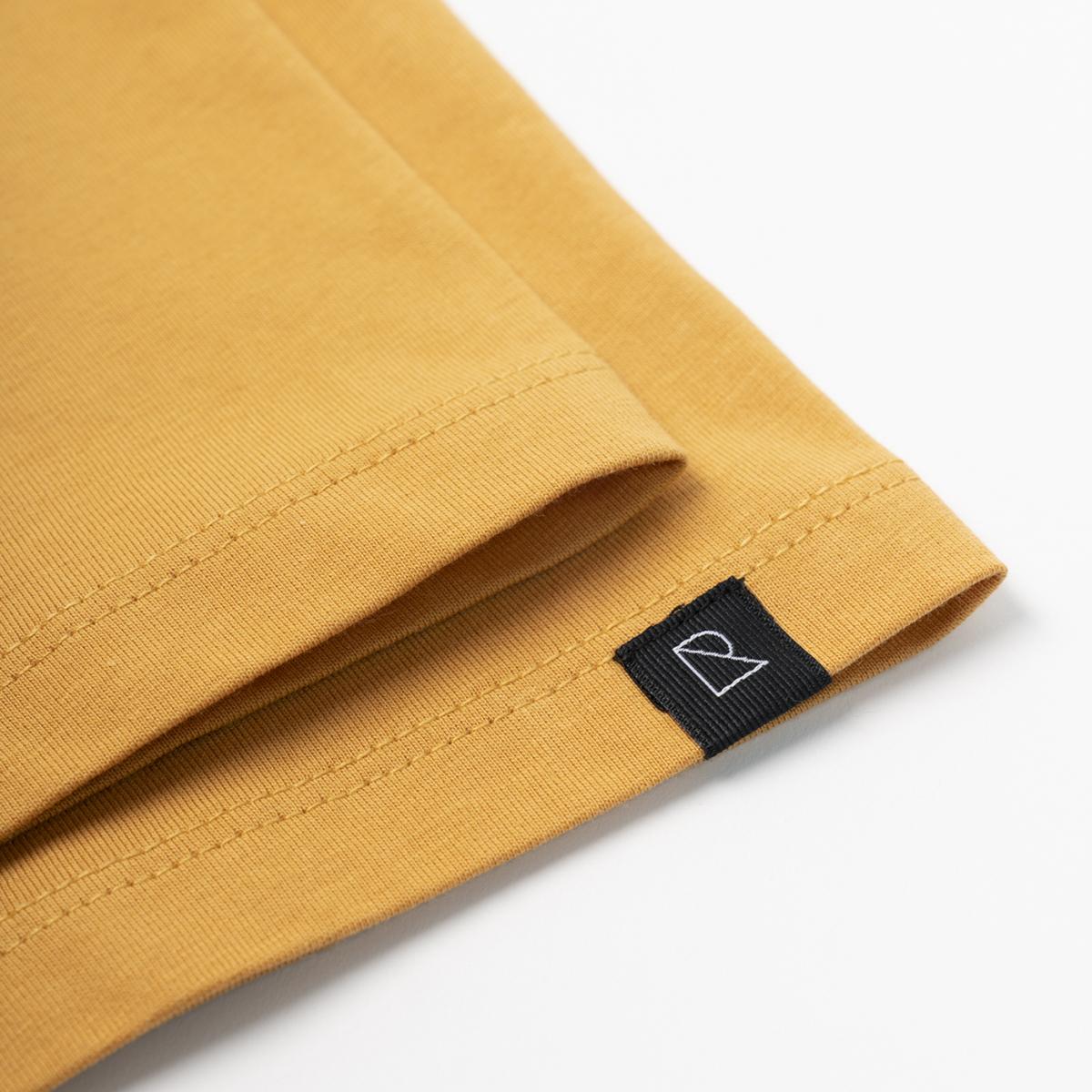 Basic Herren-Shirt AGAVE corn yellow