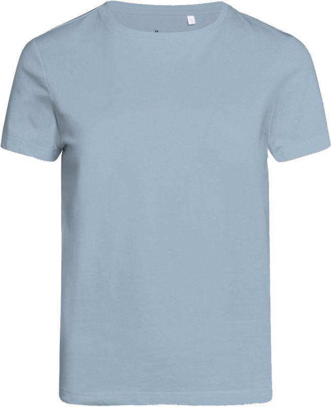 Basic T-Shirt für Damen ROSA asley blue