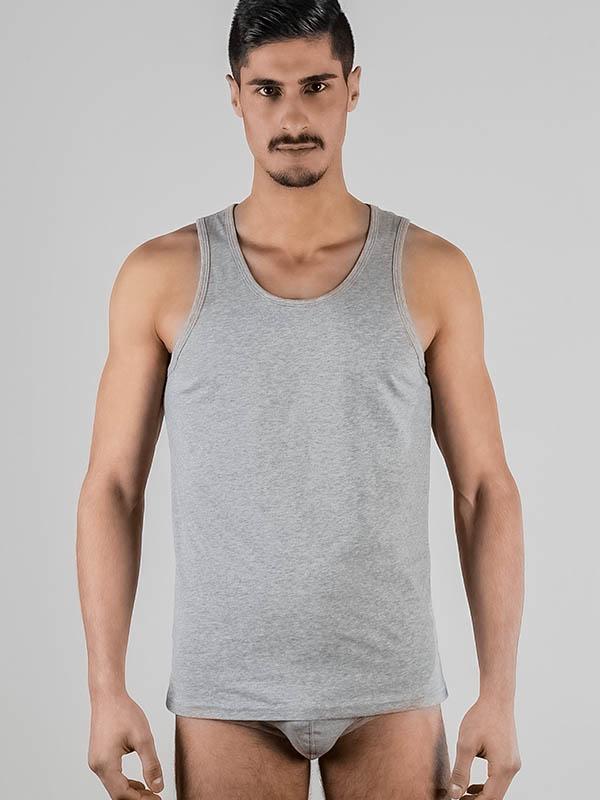 Herren-Tanktop / Unterhemd grau