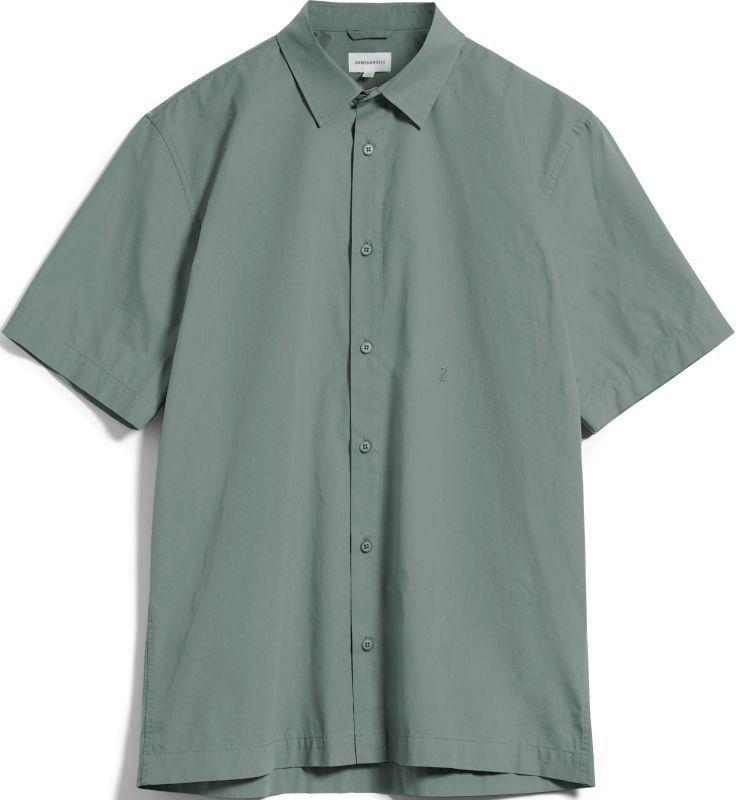 Modisches Kurzarm-Hemd CAAMI agave