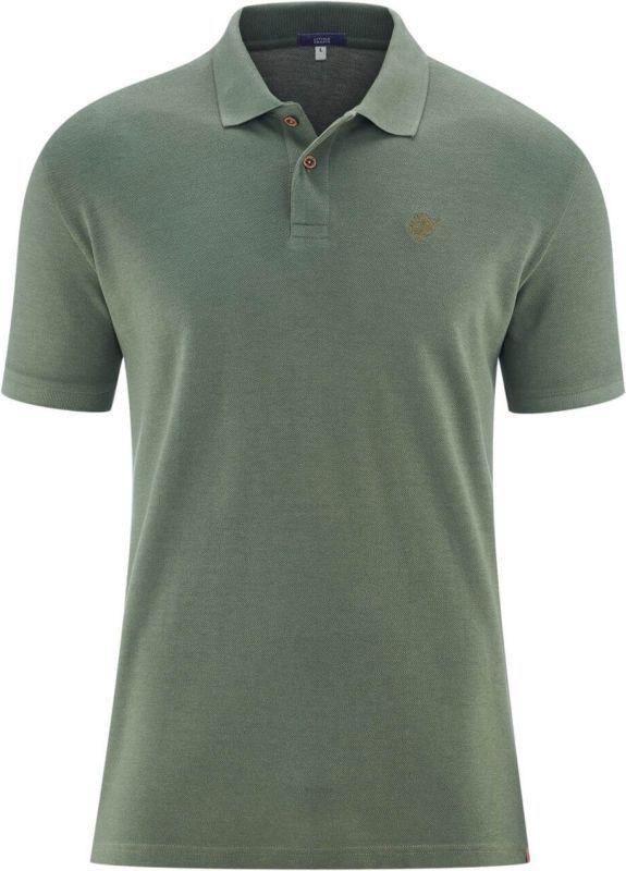 Schickes Polo-Shirt mit Viskose in oregano