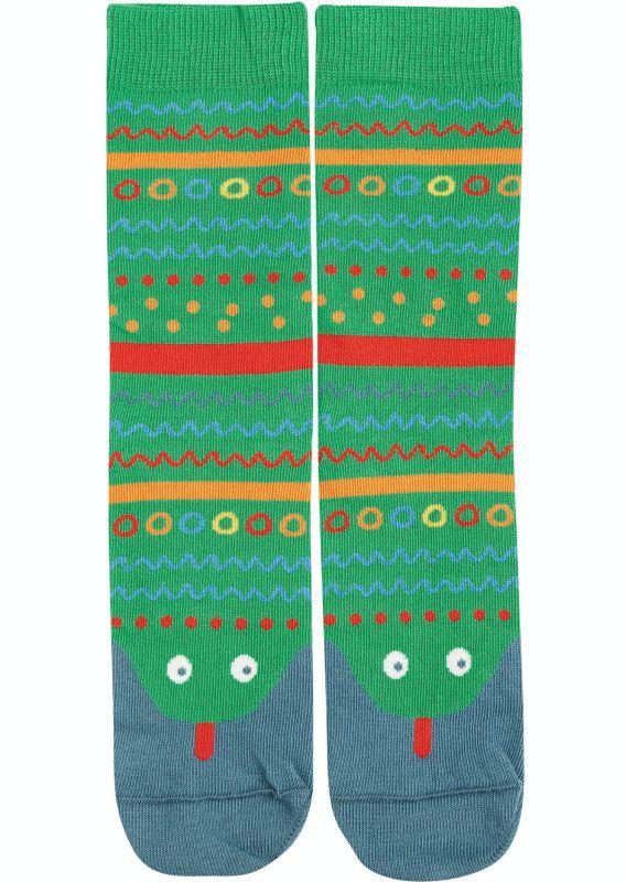 Lustige Schlangen-Socken für Kinder