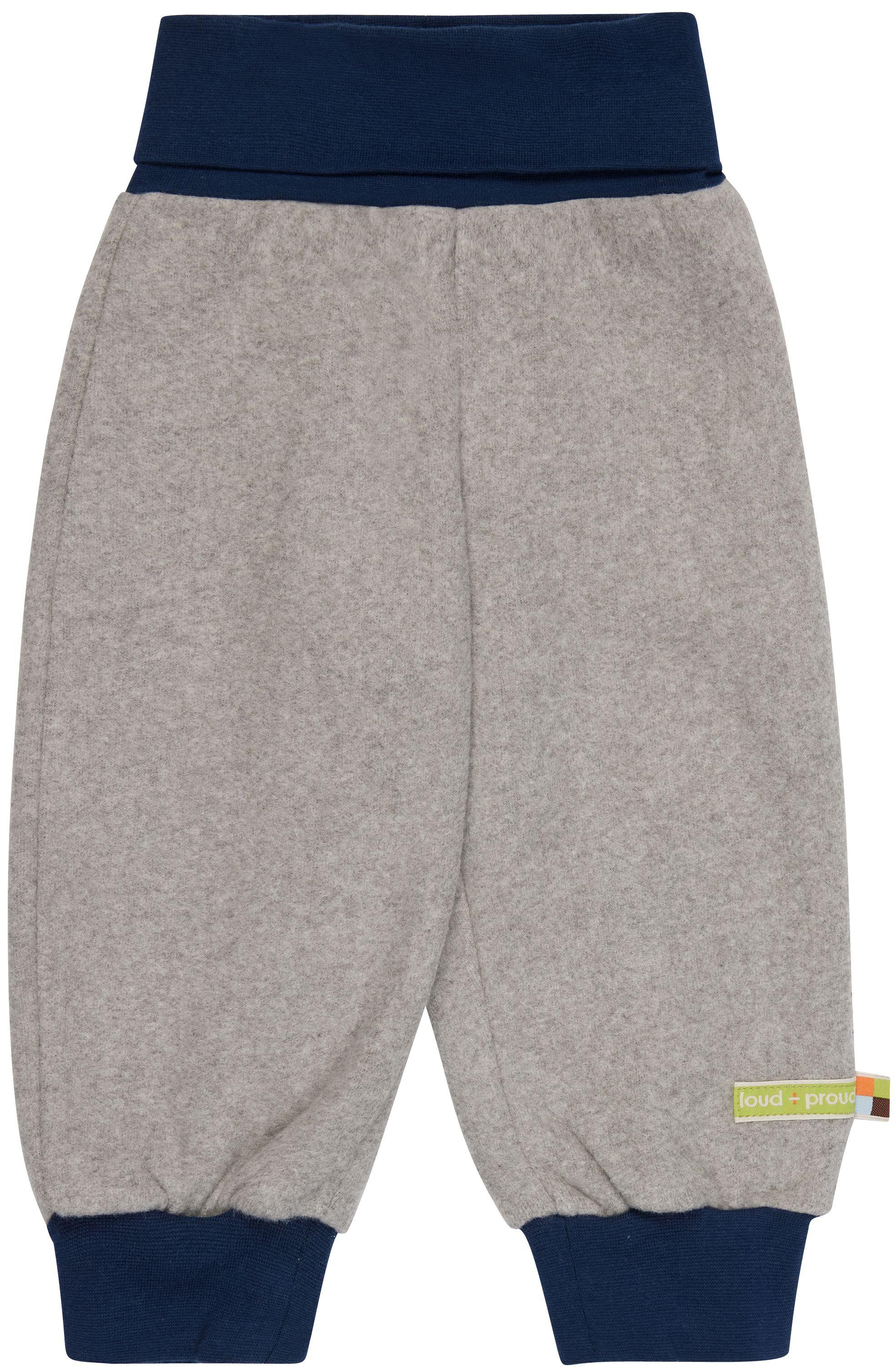 Weiche Fleece-Hose für Kinder in Grau