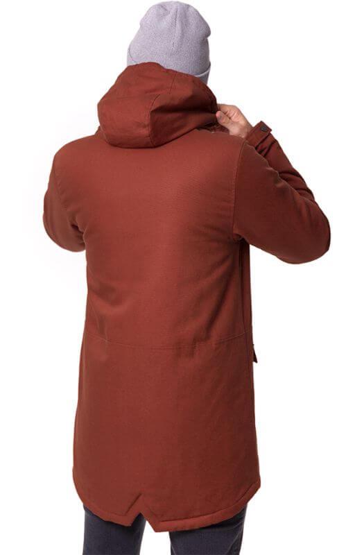 Guerilla Thermal Parka für Herren in Rot