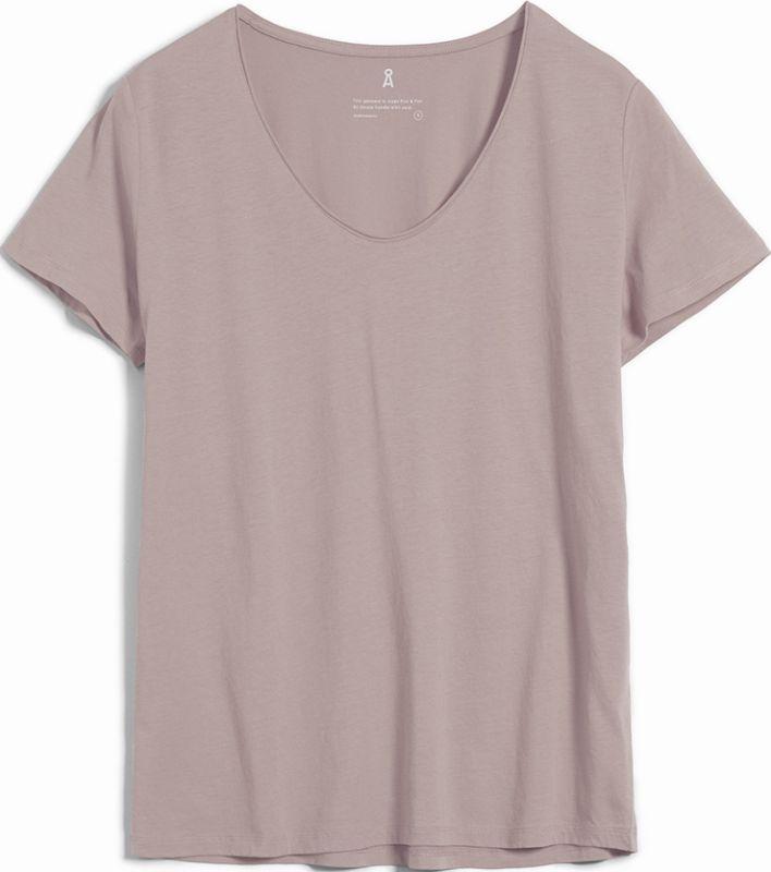 Basic Damen-Shirt HAADIA kinoko