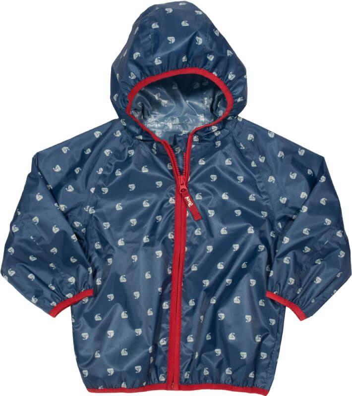 Dunkelblaue Regenjacke für Jungs