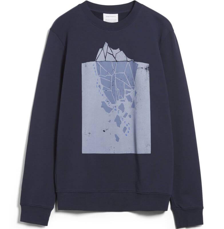 Sweatshirt YAARICK ICEBERG TIP depth navy