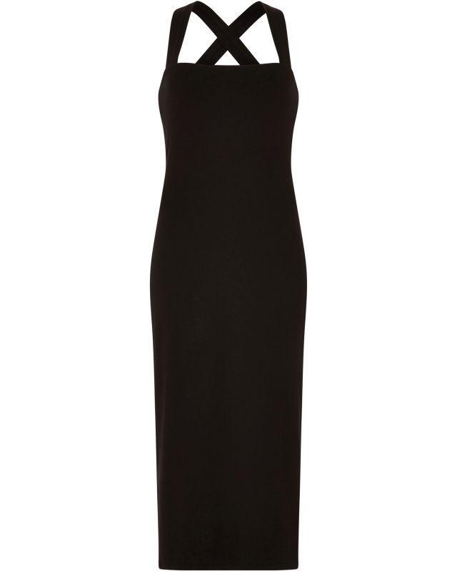 Sommerliches Kleid Priti in Schwarz