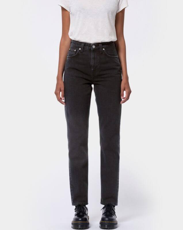 Damen-Jeans Breezy Britt - Black Worn