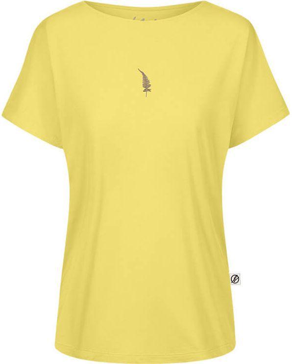 Gelbes Fernster Forestfibre T-Shirt