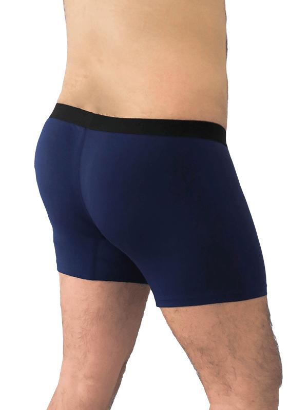 Herren-Boxershorts dunkelblau