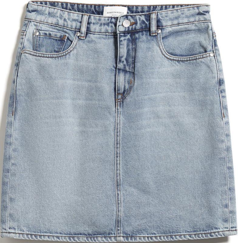 Modischer Jeans-Rock AAVA faded blue
